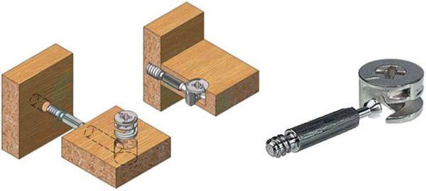 Схема установки эксцентриков
