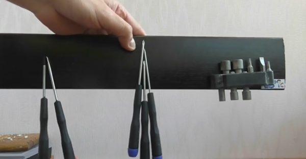 Альтернативное использование магнитной панели