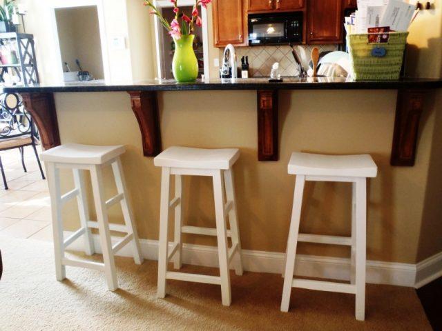 Барные стулья легко сделать своими руками