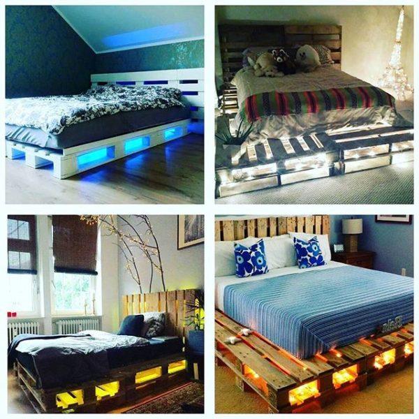 Дизайн кровати может быть разным
