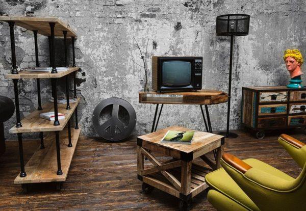 Дизайн мебель в стиле лофт