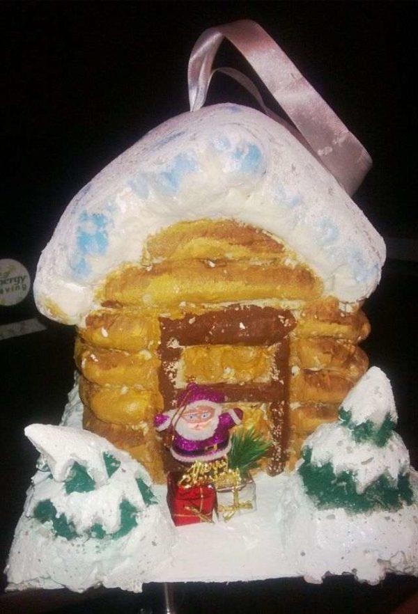 Домик Деда Мороза своими руками