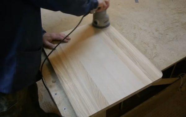 Дополнительная обработка с помощью шлифовальной машинки