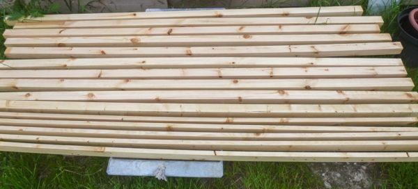 Дождитесь полного высыхания древесины