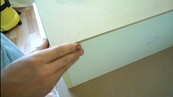 Древесноволокнистая плита часто используется в качестве дна для ящиков