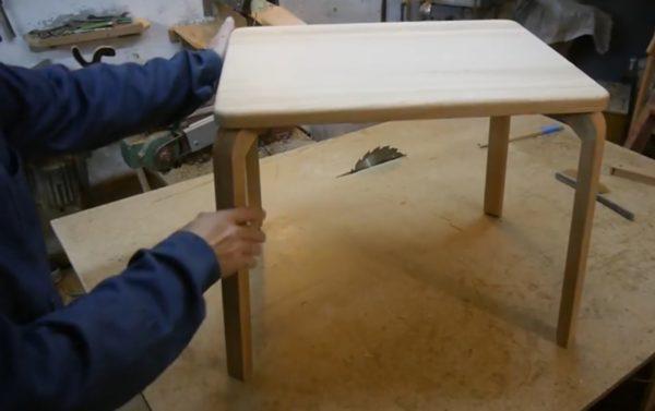Финальный внешний вид стола