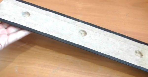 Готовые отверстия для магнитов