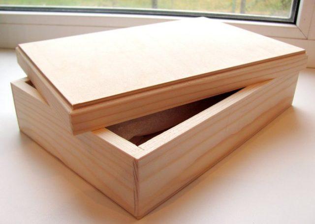 Изготовление деревянной шкатулки своими руками