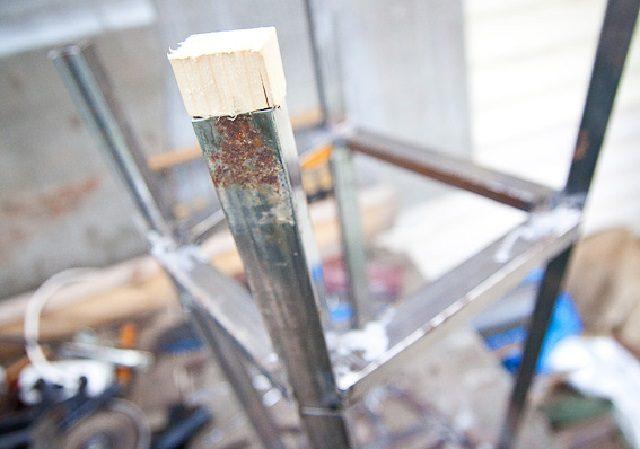 Изготовление деревянных пробок для ножек