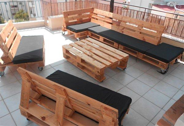 Эксклюзивная мебель из деревянных паллет
