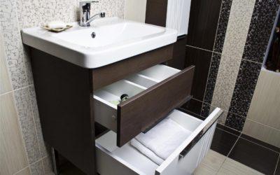 Как крепить раковину к тумбочке в ванной