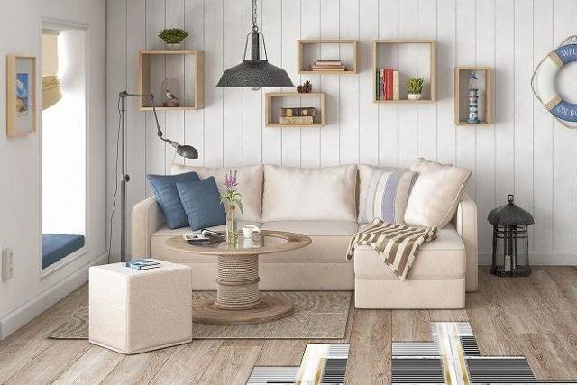 Как теплый пол влияет на предметы мебели