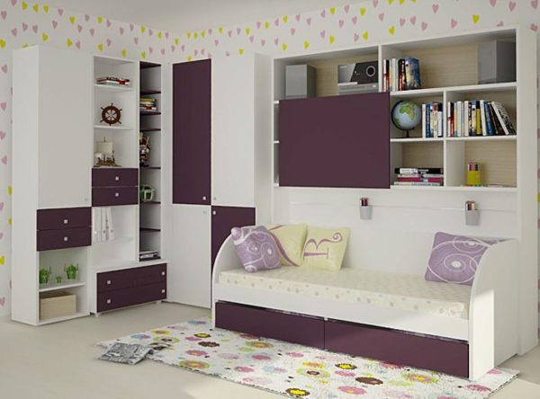 Количество острых углов при подборе мебели должно быть минимизировано