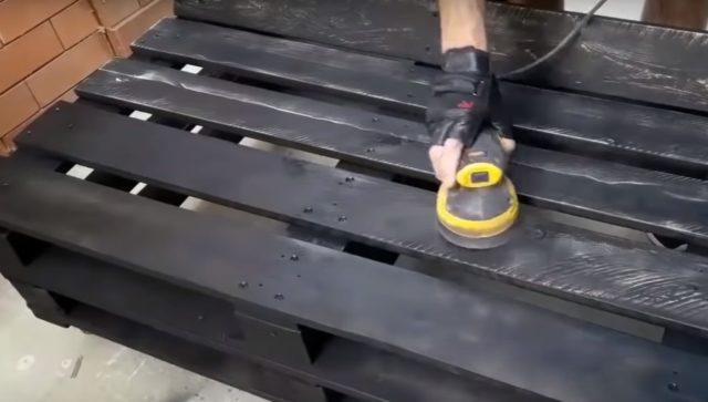 Конструкция шлифуется