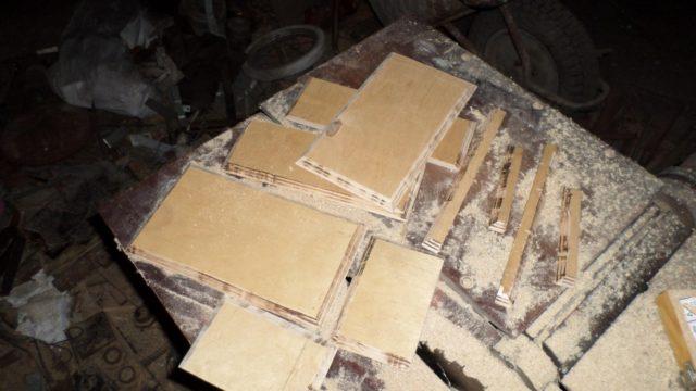 Кромки заготовок после обработки