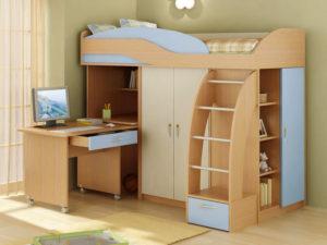 Кровать-модуль