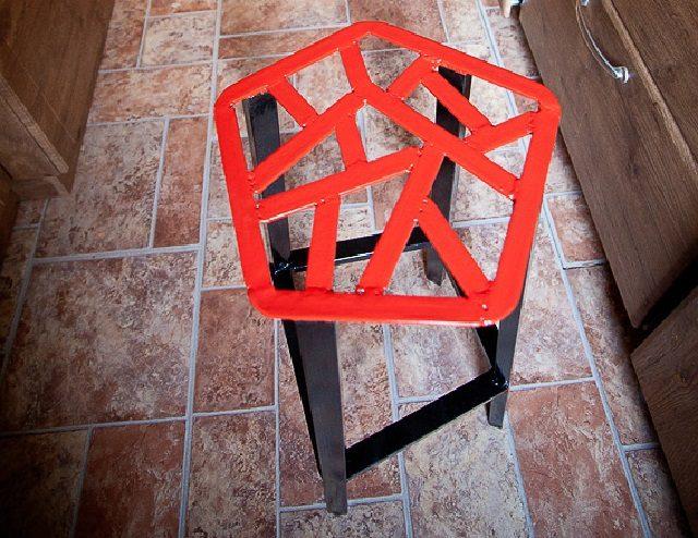 Металлический барный стул - украшение вашей кухни