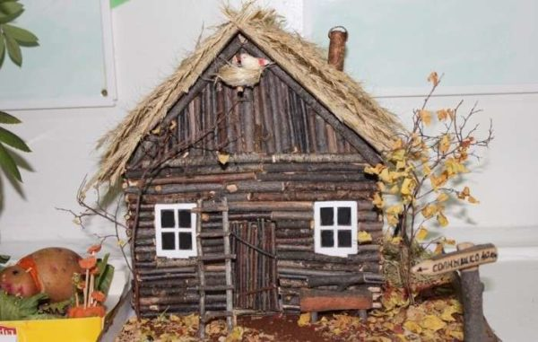 Осенняя поделка для выставки