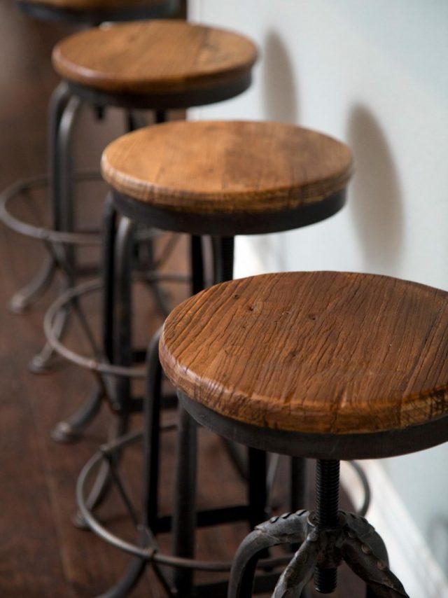 От чего зависит высота барного стула