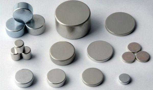 Различные формы неодимовых магнитов