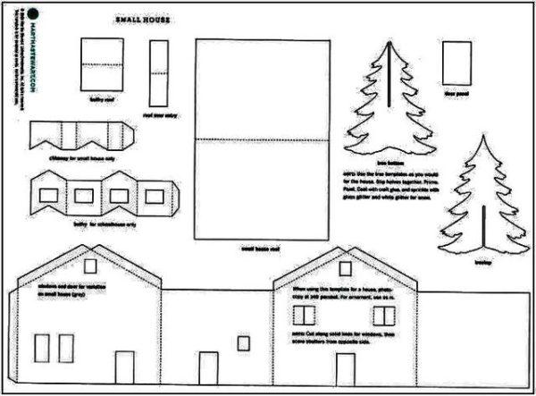 Схема деталей будущей конструкции