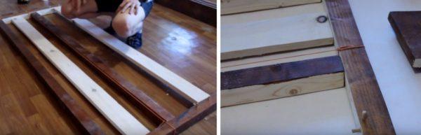 Конструкцию стягивают резинкой и оставляют на сутки