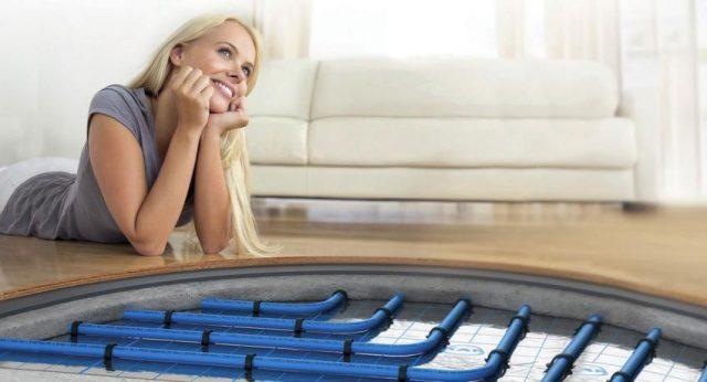 Теплый пол под мебелью – делать или нет