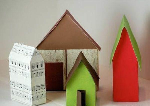 Задекорированные домики