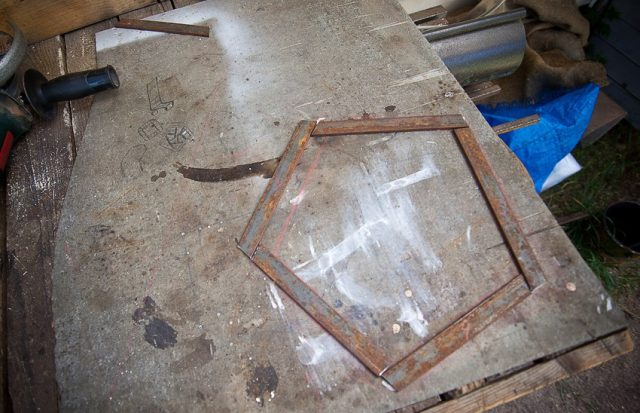 Заготовки вырезаны по эскизу