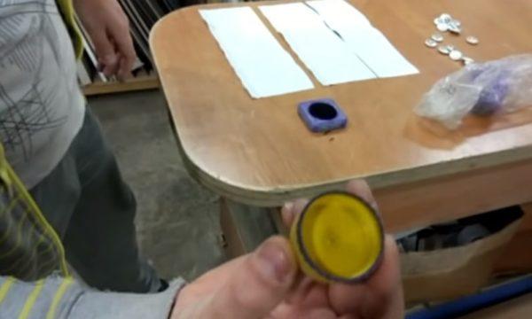 Крышка-штамп