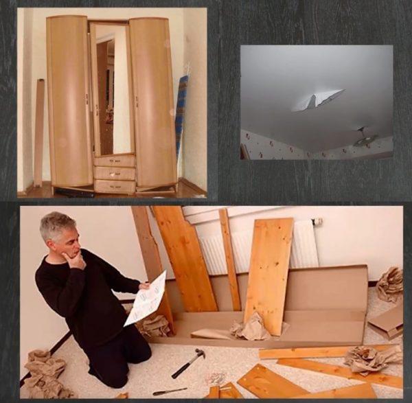 Шкаф стоит собирать, ознакомившись с инструкцией