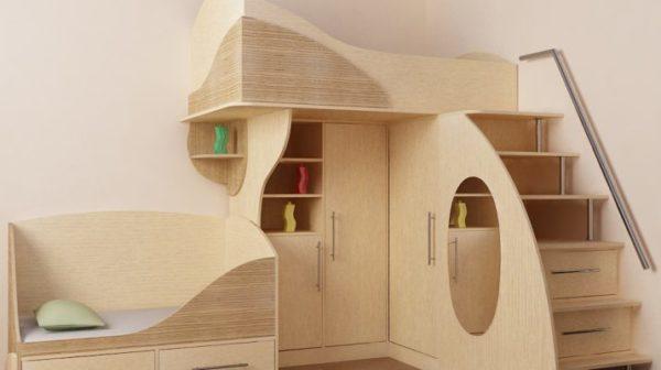 Качественная фанера безопасна и может использоваться даже для изготовления детской мебели