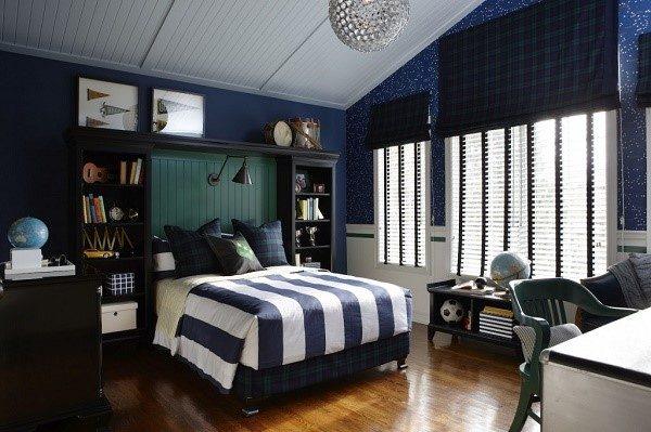 Влияние цвета стоит учитывать при выборе мебели для комнаты школьника