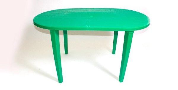 Столы с пластиковыми ножками – супер бюджетный вариант