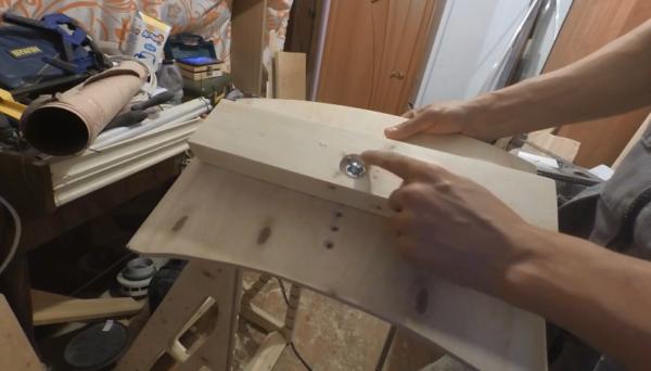 Усиленная деталь стула