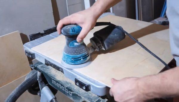 Обработка шлифмашинкой
