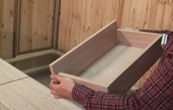 Так будет выглядеть готовый ящик