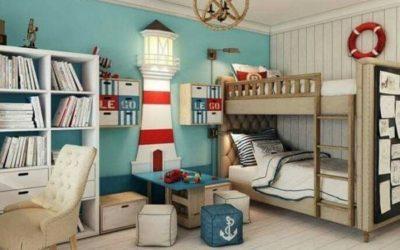 Детская комната в обязательном порядке должна быть оборудована вместительными шкафами для хранения различных предметов