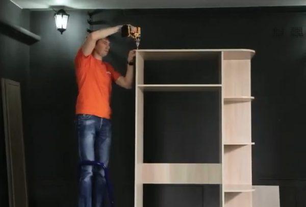 Крышка шкафа