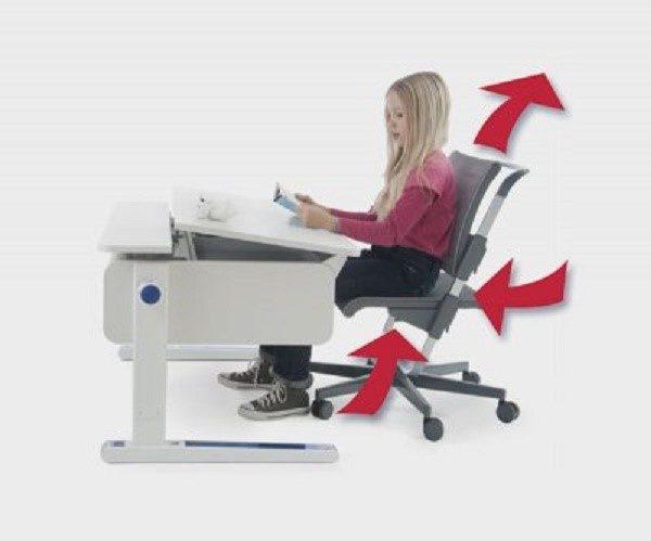 Чтобы растущий организм ребенка сформировался правильно, нужно подобрать для отпрыска правильный компьютерный стул