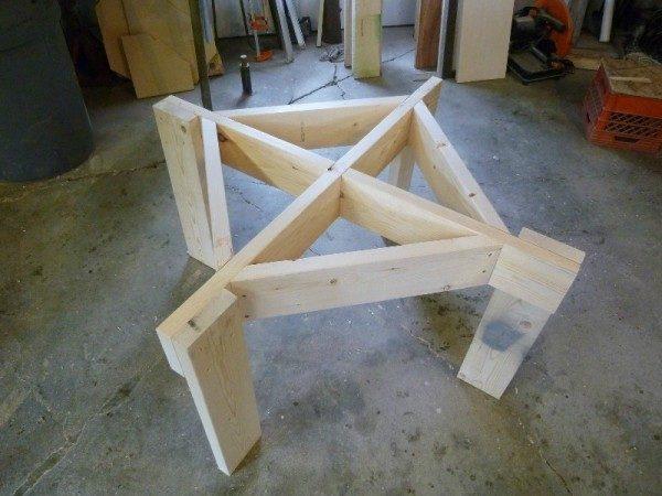 Как сделать ножки для стола своими руками