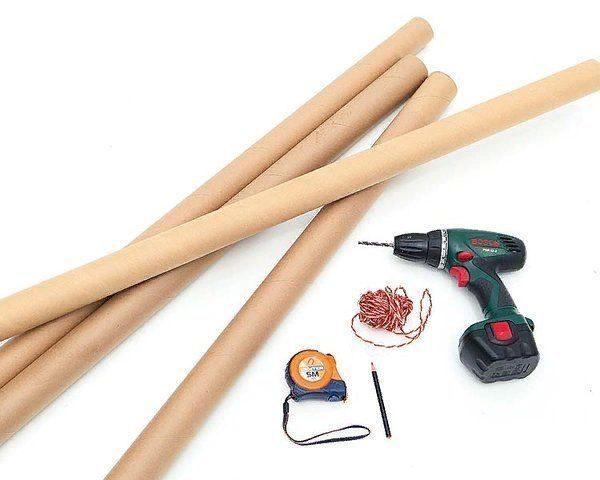Резать трубы можно острым ножом или ручной пилкой