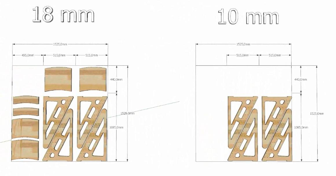 Схема стульчика