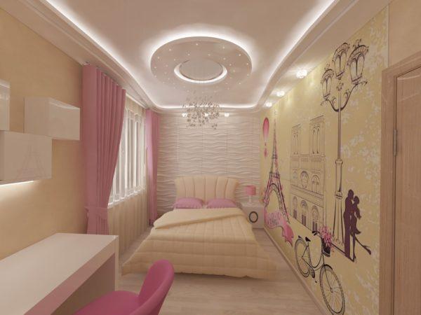 Стиль ар-деко является достаточно популярным при оформлении интерьера комнат для подростков