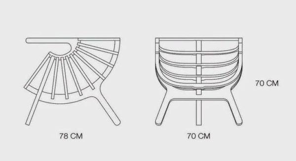 Определяемся с размерами кресла