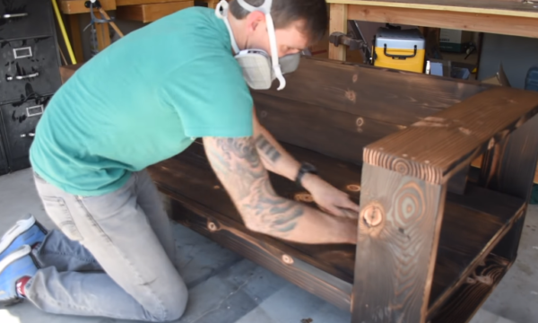 Состаривание древесины