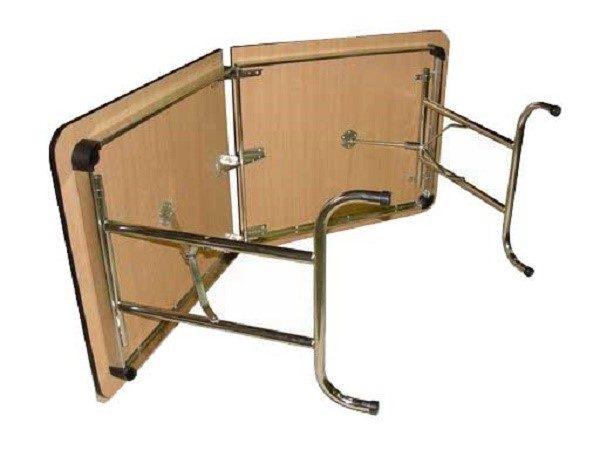 Складные ножки добавят столу функциональности