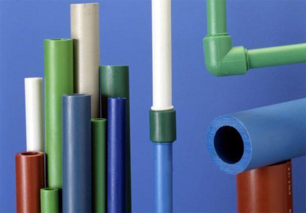 Можно приобрести цветные трубы, чтобы пропустить момент окрашивания