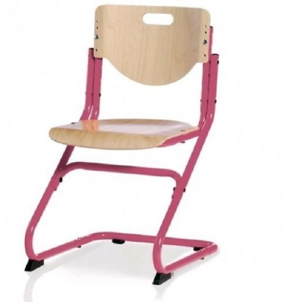 Компьютерный стул с металлическим каркасом