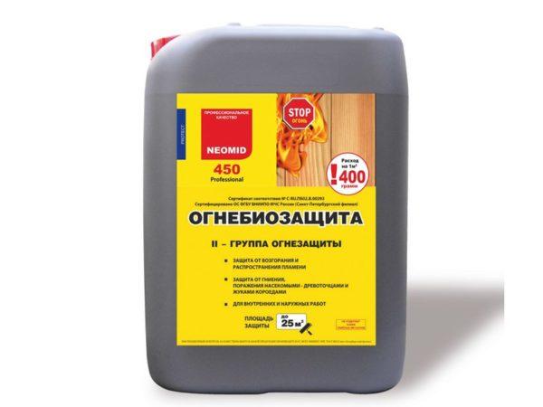 Антисептик огнебиозащитный